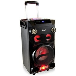 Portable Bluetooth Karaoke Speaker System with Wireless Headset