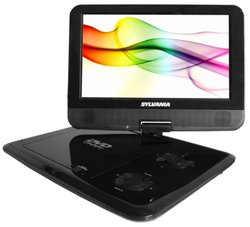 "Sylvania 9"" Portable DVD Player w/Bag, Kit & USB/SD Card Reader"