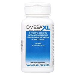 OmegaXL® 300 Count All Natural Powerful Omega-3 Joint Health Supplement Formulated with a Patented Complex to Help Relieve Joint Pain Due to Inflammation