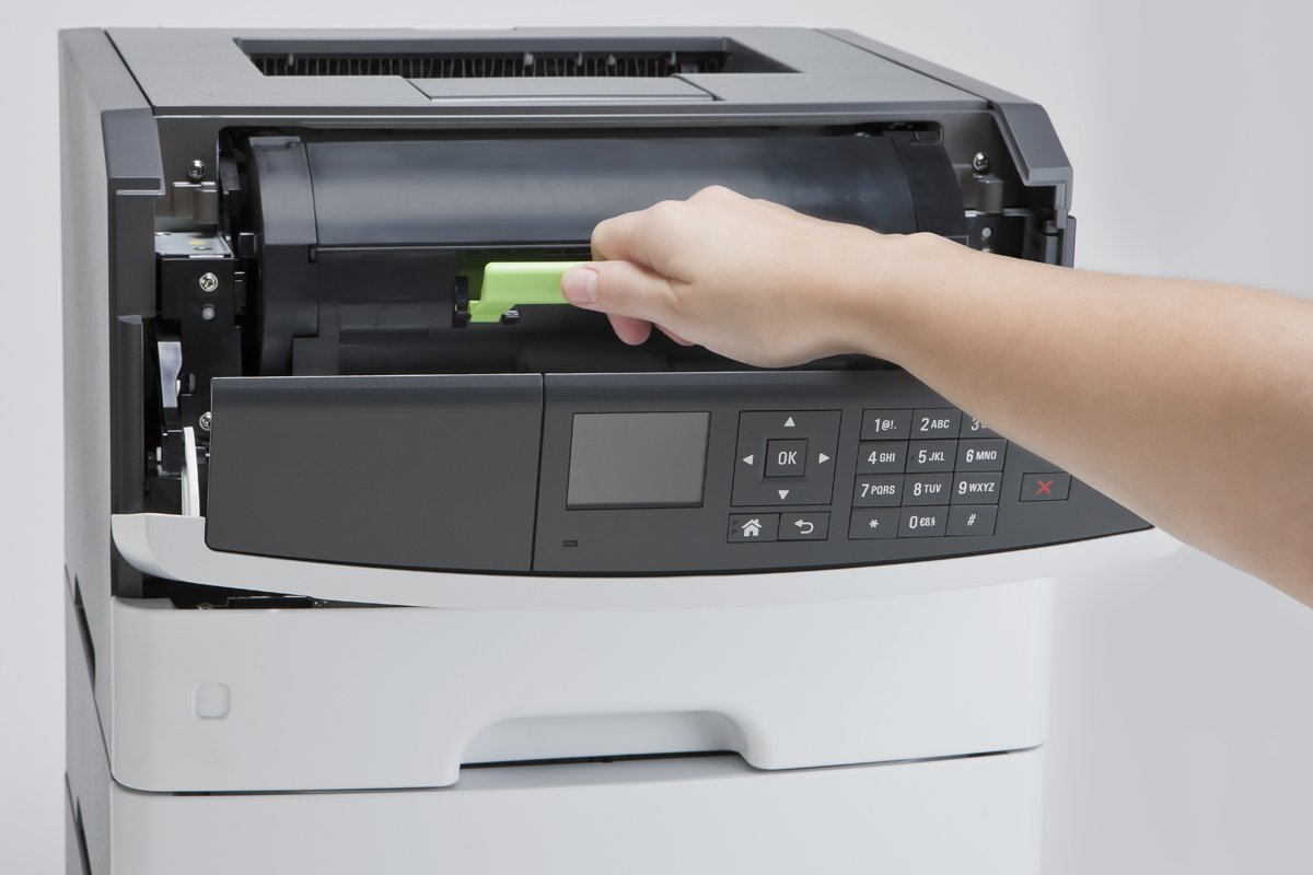 grays office. Lexmark Monochrome Laser Printer Duplex - Black/Grey (MS510DN) Grays Office