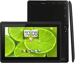 "iRola DX758-Pro Android 7"" Tablet Quad-Core Bluetooth 2.1, 8GB - Black"