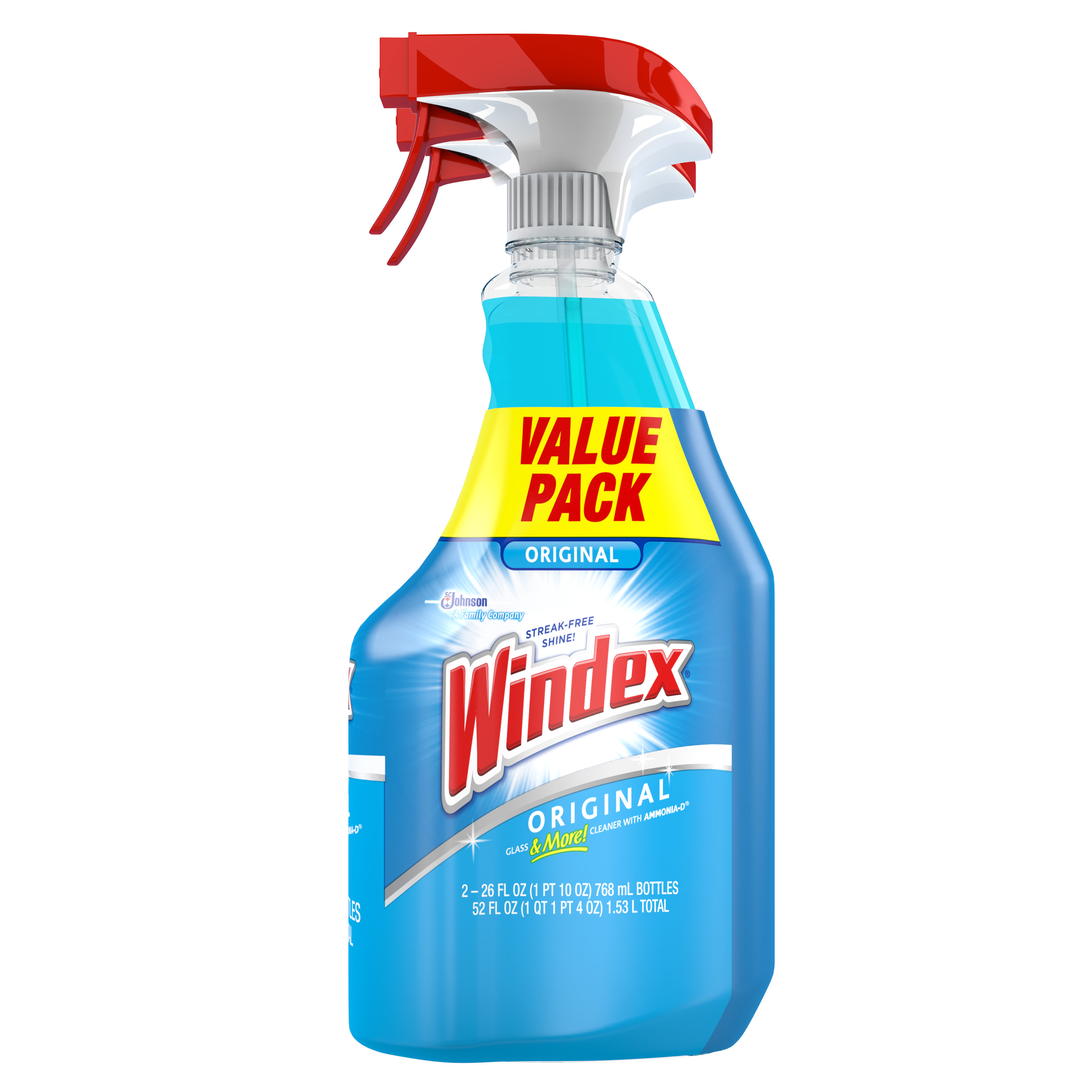 Johnson Sc Sons Windex Glass Cleaner Twin Pack 26 Oz