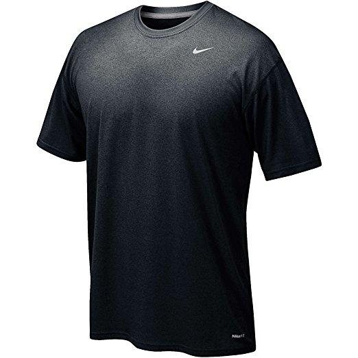 d78b67ffb3fe Nike Men s Short Sleeve Poly T-Shirt - Black Matte Silver - Size  M - Check  Back Soon - BLINQ
