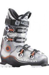 Salomon X Pro R90 Men's Ski Boot - Anthracite/Crystal - Size: 27.5