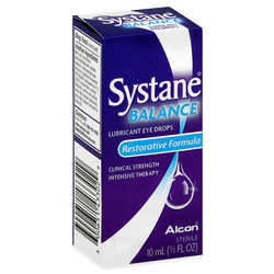 Systane Balance Restorative Formula Lubricant Eye Drops - 10 mL (0.33 oz)