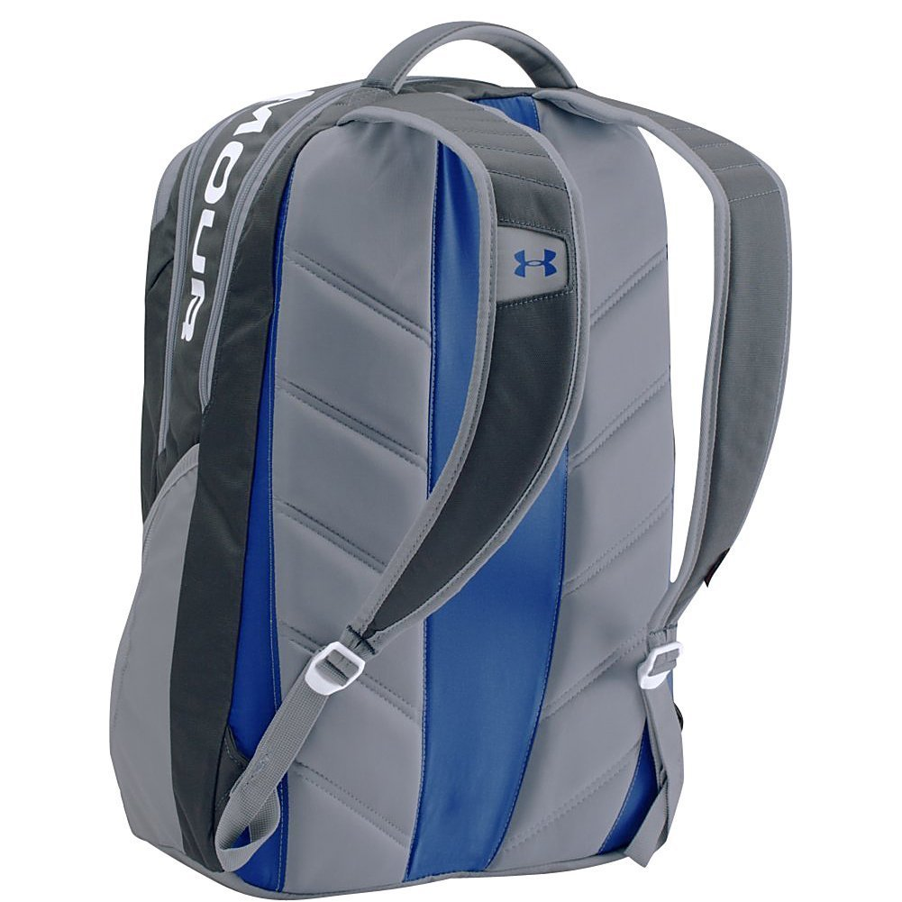 90ab3d3a10 Under Armour Unisex Storm Big Logo IV Backpack - White - One Size ...