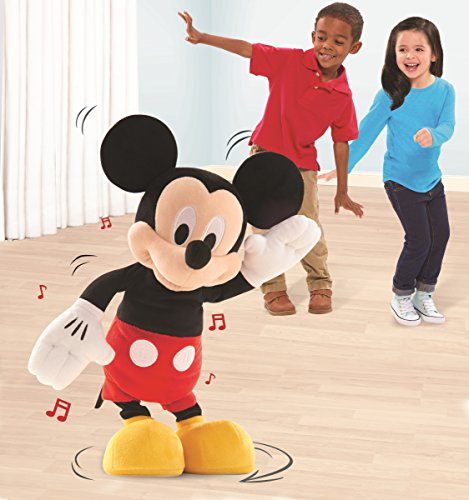 Just Play Toys : Just play disney hot dance mickey  check back