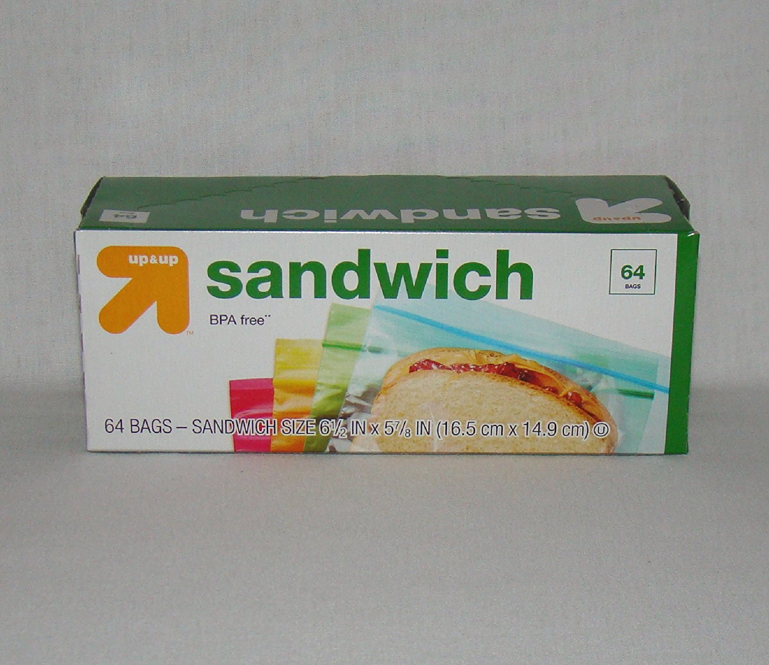 Up Colored Sandwich Bags Resealable 64 Count Red Yellow Green Blue Check Back Soon