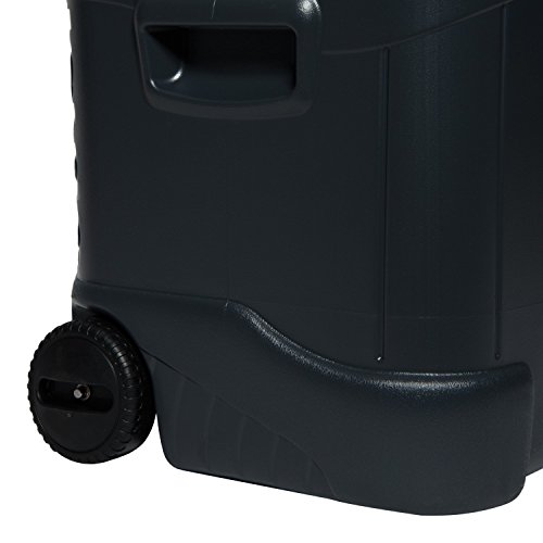 Igloo 2 Wheeled MaxCold Roller Cooler - 70 Qt - Jet Carbon