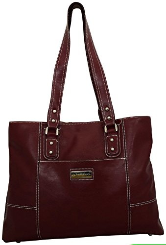 Franklin Covey Veronica Laptop Tote Red 737514