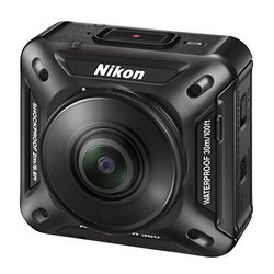 Mint Nikon KeyMission 360 21.14MP Waterproof Action Camera - Black