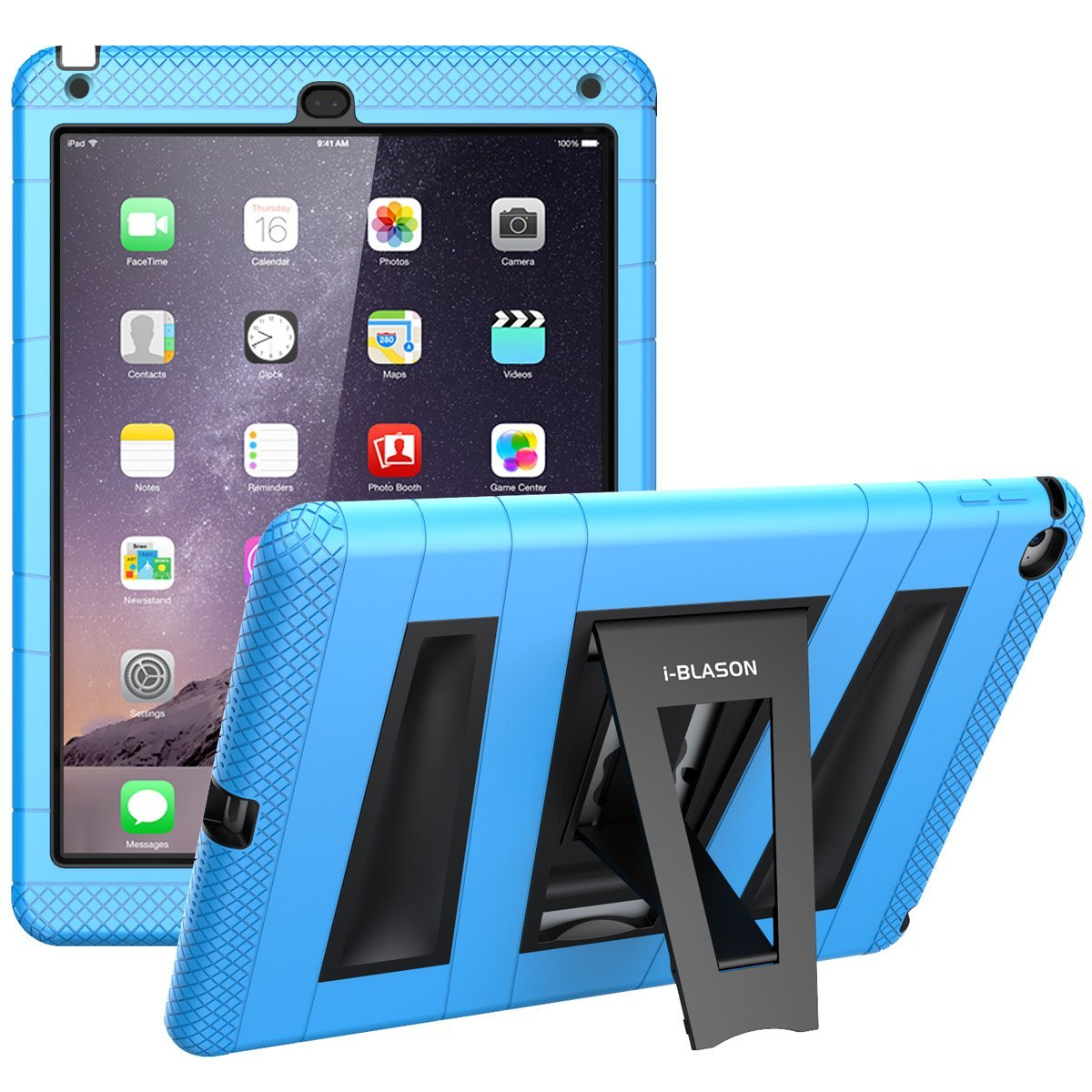 huge discount d2d38 095a7 i-Blason Protective Case For Apple iPad Air 2 9.7