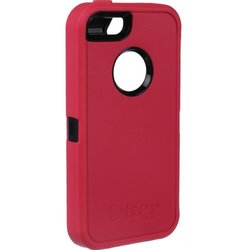 OtterBox Defender Series Case for iPhone 5/5S Case, Raspberry (77-33384)