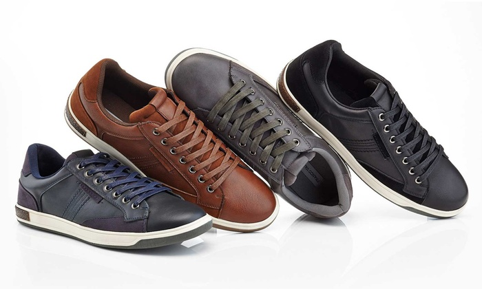 Franco Vanucci Men's Lace Up Sneaker