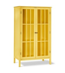 Threshold Windham Library Cabinet - Yellow