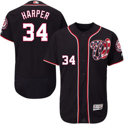 online store 39113 aa709 Majestic Men's Washington Nationals Bryce Harper Jersey - Black -Sz: Small  - Check Back Soon