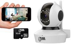 Black Label Cam Pro 1080p Full HD Wifi Surveillance Camera - White