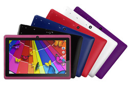 "Kocaso 7"" Tablet 8GB Android 4.4 - Red - (DX758)"