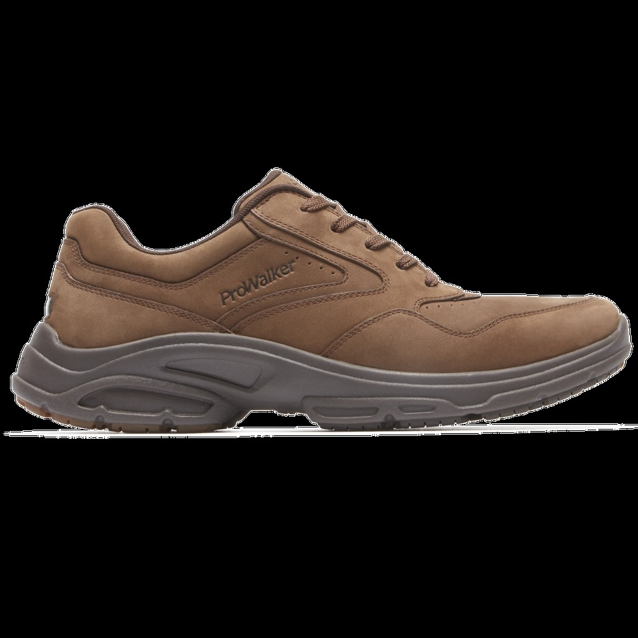 Rockport Men's Catalyst 3 Pro Walker Shoes - Fudge Nbk - Size: ...