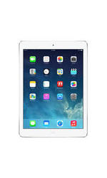 "Apple iPad Air 9.7"" Tablet 16GB WI-Fi + Cellular - Silver - AT&T (ME997LL/A)"