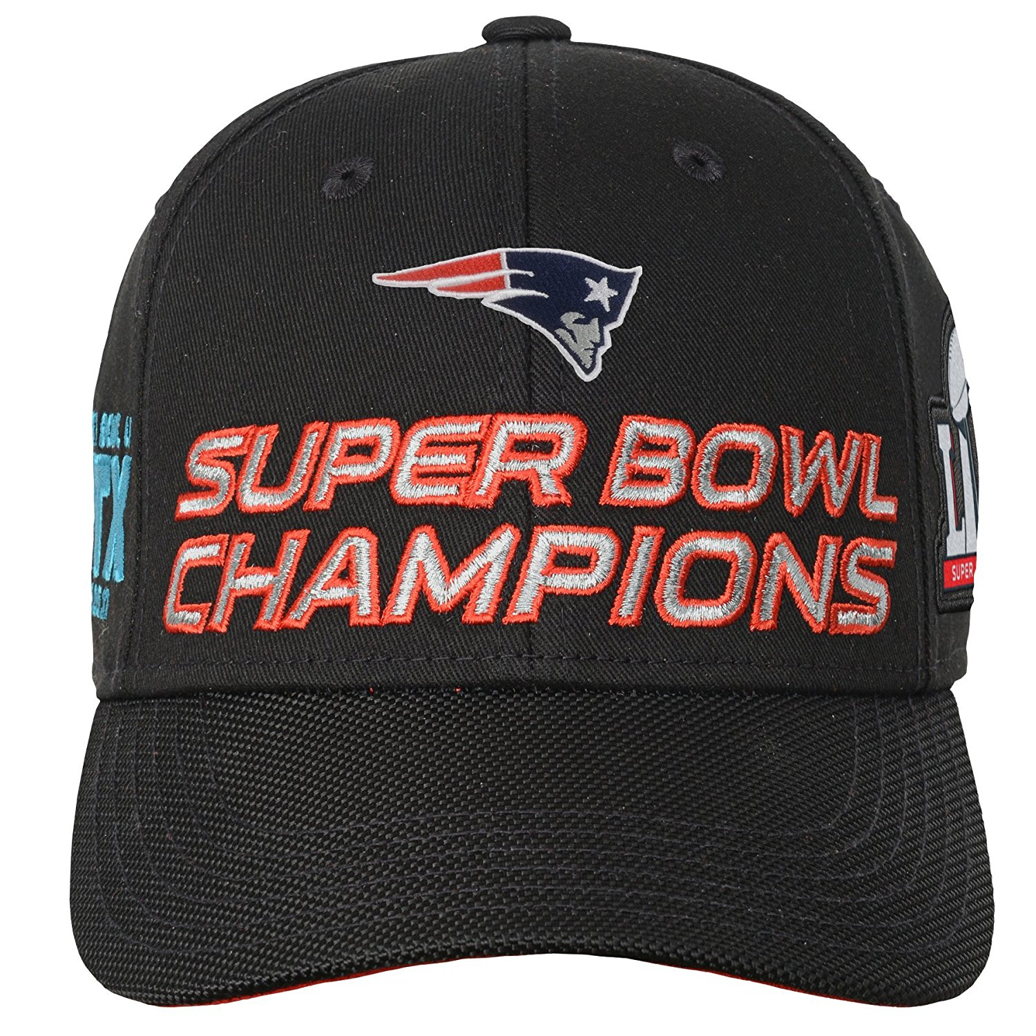 ... OuterStuff Unisex New England Patriots Super Bowl Hat - Black - Size   One ... 89b73ccbf