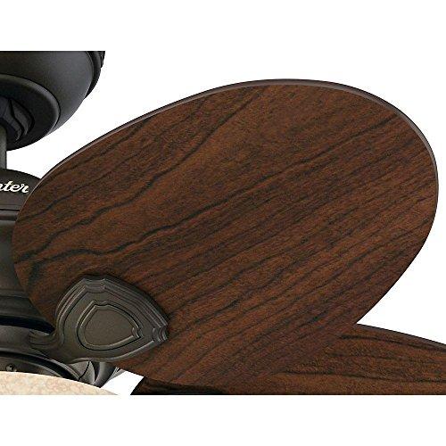 Hunter 51004 Carmen 34 U0026quot  Indoor New Bronze Ceiling Fan