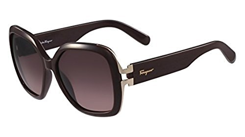 56f58a4bc053d Salvatore Ferragamo Women s Sunglasses - Burgundy Frame - 56mm ...
