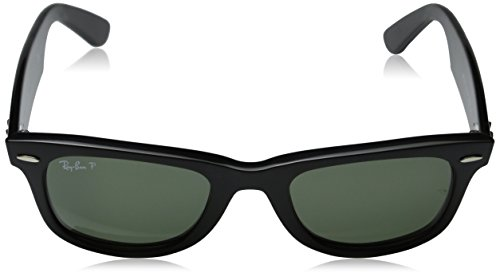 4dcc5fa9a ... Ray-Ban Original Wayfarer Classic Black, Polarized Green Lenses - RB2140-  901/ ...