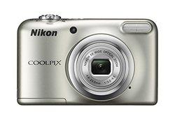 Nikon Coolpix A10 Camera, 16.1MP, 5x Zoom, Silver 1348262