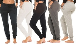 Coco Limon Womens 5-Pack Jogger Pants - Multi - Size: 3X