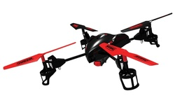 WebRC XDrone HD 2.4GHZ R/C Quadcopter - Red (G15001)