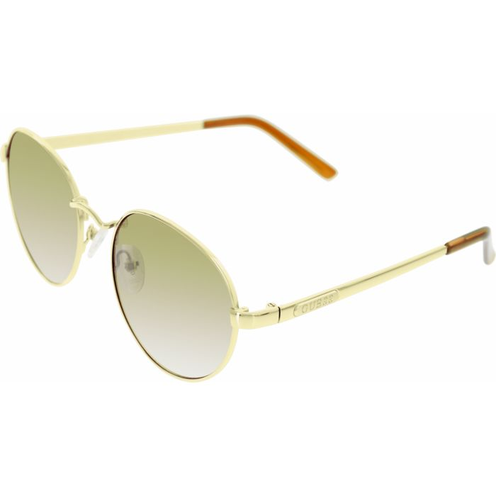 2360f5977374c Guess Women s Round Sunglasses - Gold (GU7363-GLD-34) - Check Back Soon -  BLINQ