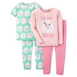 699920553714 Carter s Girl s Infant Sheep Pajama Set - Size  12M - Master Pack ...