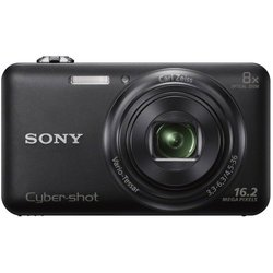 Sony Cyber-shot 16.2MP Digital Camera - 8x Optical Zoom (DSC-WX80/B)