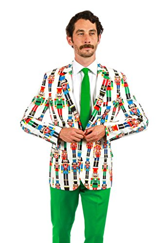 Christmas Sweater Suit.Men S Ugly Christmas Sweater Suit The Nutcracker Size
