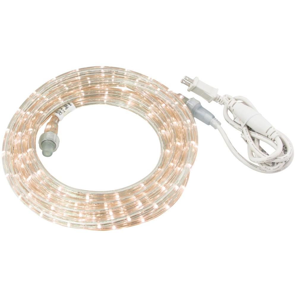 Commercial electric 18 ft white led rope light kit 0018 0005 commercial electric 18 ft white led rope light kit 0018 0005 aloadofball Gallery