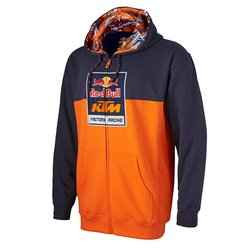 KTM Men's Red Bull Factory Racing Logo Sweatshirt - Orange/Navy - Size: L 1369241