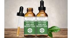 100% Pure Moroccan Argan Body Oil (2-Pack)
