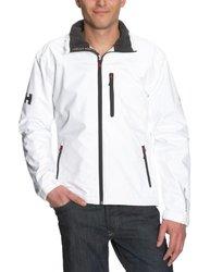 Helly Hansen Men's Crew Midlayer Rain & Sailing Jacket - White - Size: M 1374824