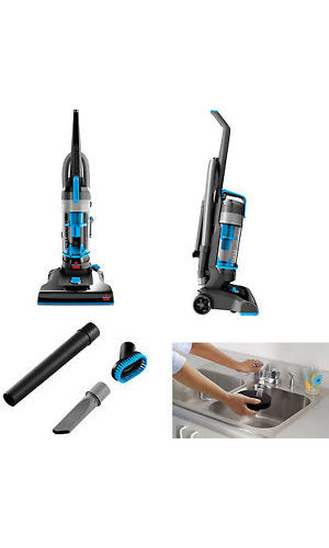 Bissell Powerforce Helix Bagless Vacuum Cleaner Blue 1700 Check Back Soon Blinq