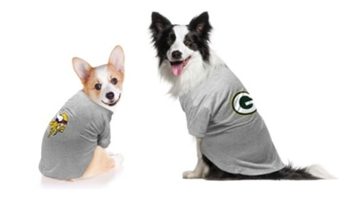 half off 2c2db 1e10e Little Earth NFL Dog Washington Redskins T-Shirt - Grey - Size: Small -  Check Back Soon