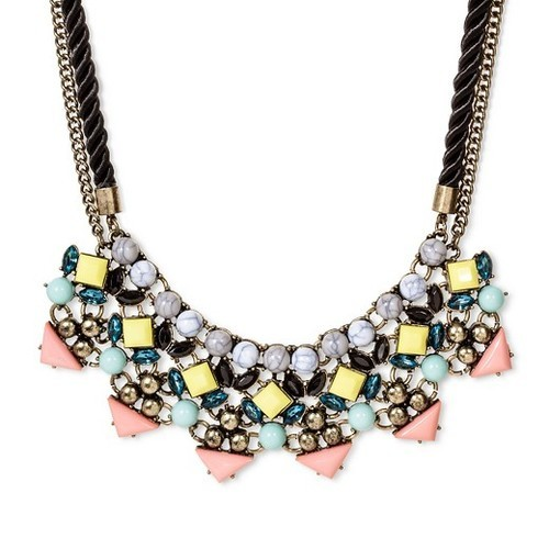 6af423381e96c Sugarfix by Baublebar Women's Beaded Collar Necklace - Yellow -18