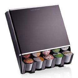 Mind Reader Free Fall Coffee Pod Dispenser For 30- Single Serve Coffee Pods, Black by Mind Reader 1402415
