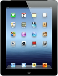 "Apple iPad 3 9.7"" Tablet 16GB Wi-Fi + AT&T 4G - Black (MD366LL/A)"