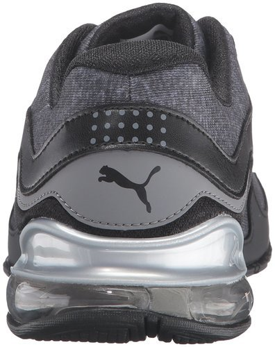 29bab980a002a0 ... Puma Women s Cell Riaze Heather FM Running Shoes - Black Gray - Size   ...