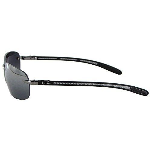 1f724773c9 ... cheap rayban tech carbon fiber polarized sunglasses silver gray rb 8303  36c6e 654e8