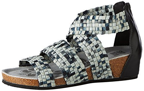9ae41956cb93 Muk Luks Women s Elle Wedge Sandals - Black - Size  6 (0016823001 ...