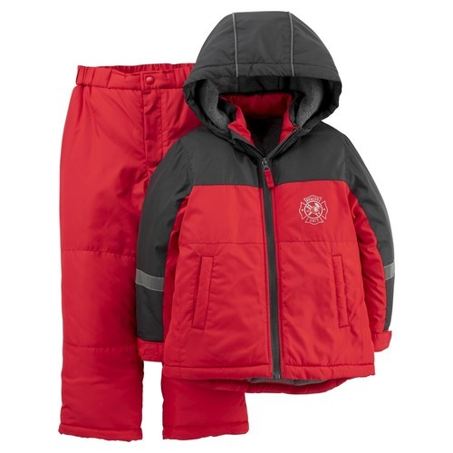 59ba74d6e Just One You by Carter's Boys' 2-Piece Snowsuit Set - Red - Size:6 ...