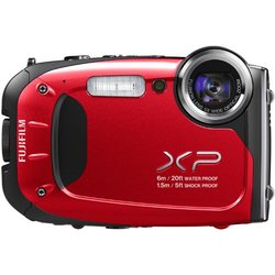 Fujifilm XP60 16.4MP Digital Camera Red Waterproof 5x Optical Zoom
