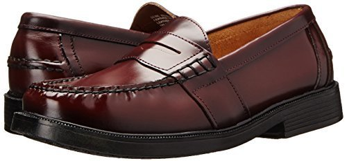 6d66020c4aa Nunn Bush Men s Lincoln Penny Loafer - Burgundy - Size 10.5 - Check ...